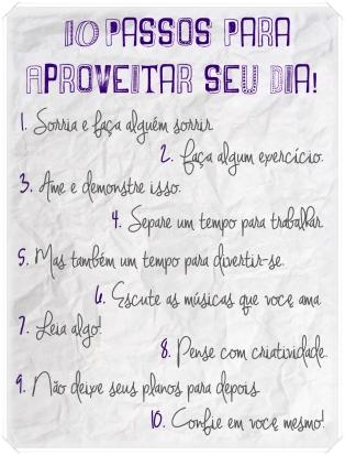 10 passos