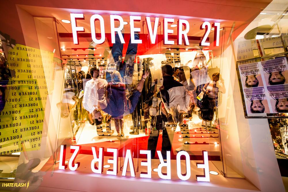 Pré-inauguração Forever 21-3