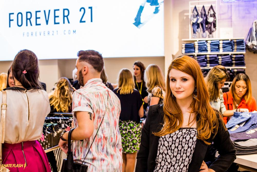 Pré-inauguração Forever 21-44